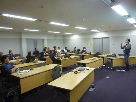 写真:SIG-MBI講演会の様子